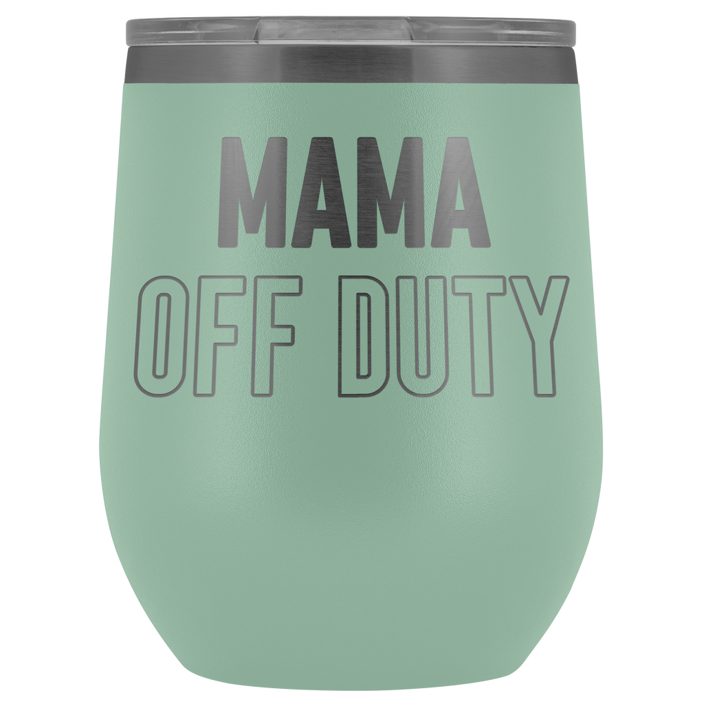 MAMA Off Duty 12oz. Stemless Wine Tumbler
