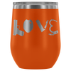 Love Police Gear Oval 12oz Wine Tumbler