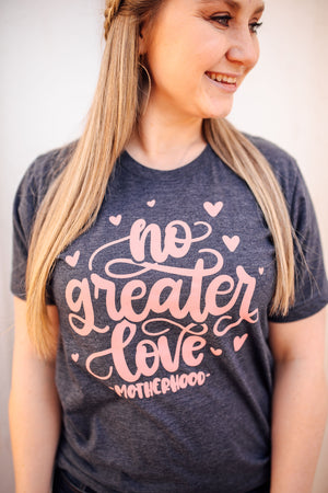 No Greater Love Unisex Top (Mauve)