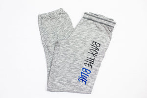 Back The Blue Women's Marbled Jogger // Final Sale