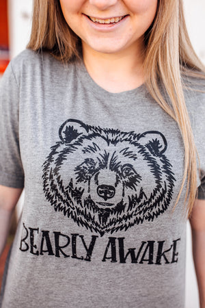 Barely Awake Unisex Tee (Black)