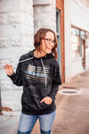 Standard Glitter Flag Unisex Hoodie (Black Camo + Select Your Line)