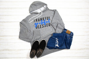 Thankful Grateful Blessed (TBL) Unisex Pullover Hoodie