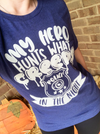 My Hero Hunts What Creeps In The Night © Unisex Top (Glow In The Dark)