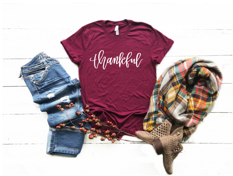 Thankful Unisex Top