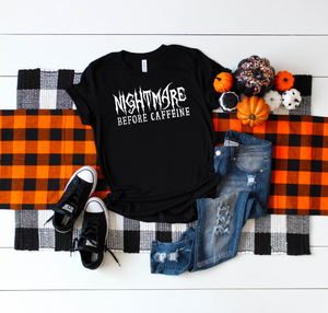 Nightmare Before Caffeine Unisex Top
