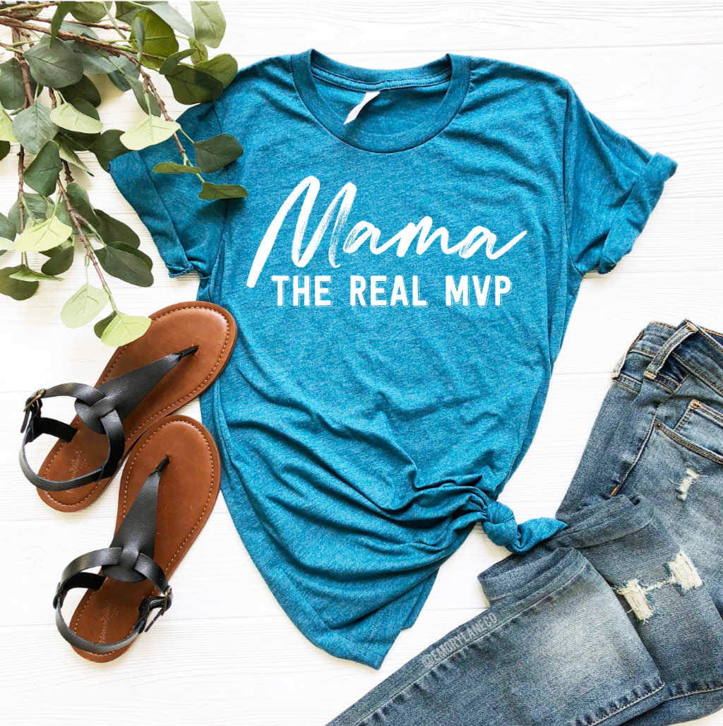 Mama The Real MVP Unisex Top