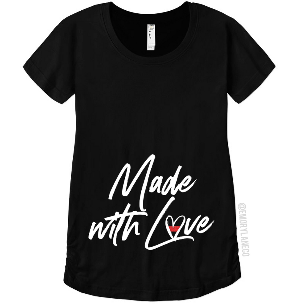TRL Made with Love Maternity Top