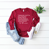 Tis The Season L/S Triblend Unisex Top