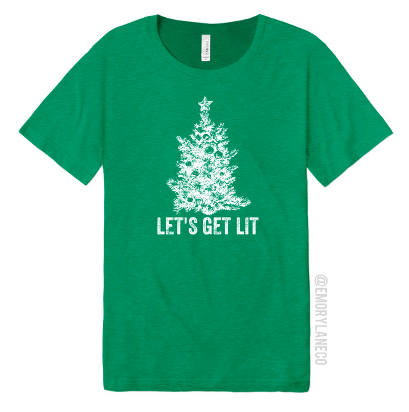 Let's Get Lit Unisex Top