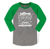 Jolliest Bunch Of Assholes Unisex Baseball Raglan