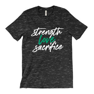 Strength Love Sacrifice - TGL