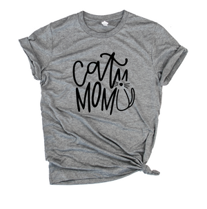 Cat Mom Unisex Top