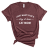 Stay At Home Cat Mom Unisex Top