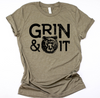 [CLOSEOUT] Grin and Bear It Unisex Top / FINAL SALE