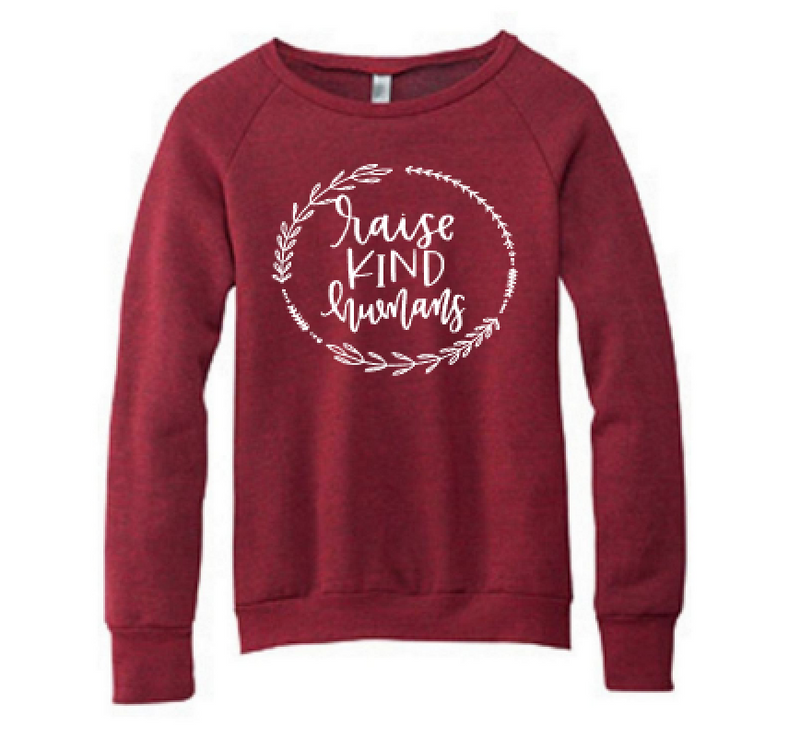 Raise Kind Humans Unisex Crewneck Sweatshirt
