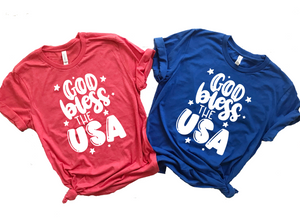 [CLOSEOUT] God Bless the USA Unisex Top