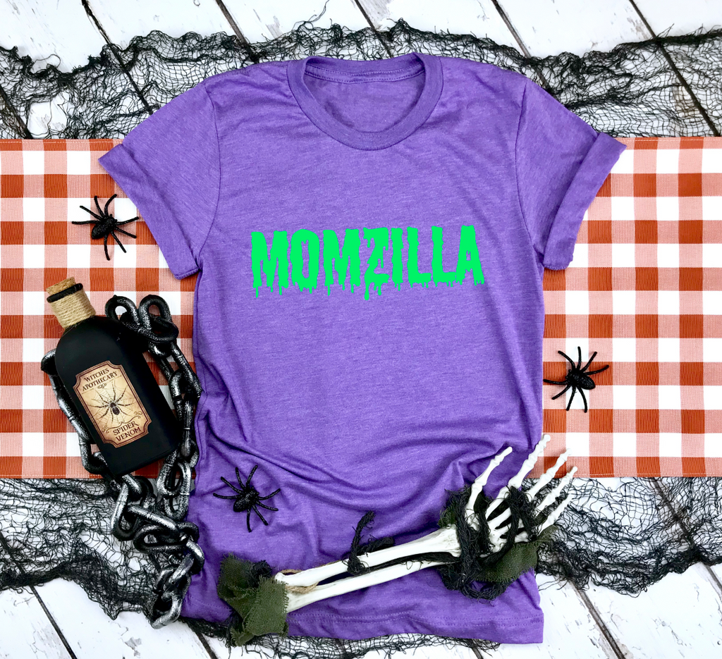 Momzilla Unisex Top (Lime Green)