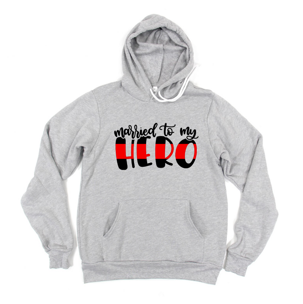 Married To My Hero© (TRL) Unisex Pullover Hoodie