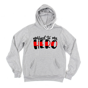 Married To My Hero (TRL) Unisex Pullover Hoodie