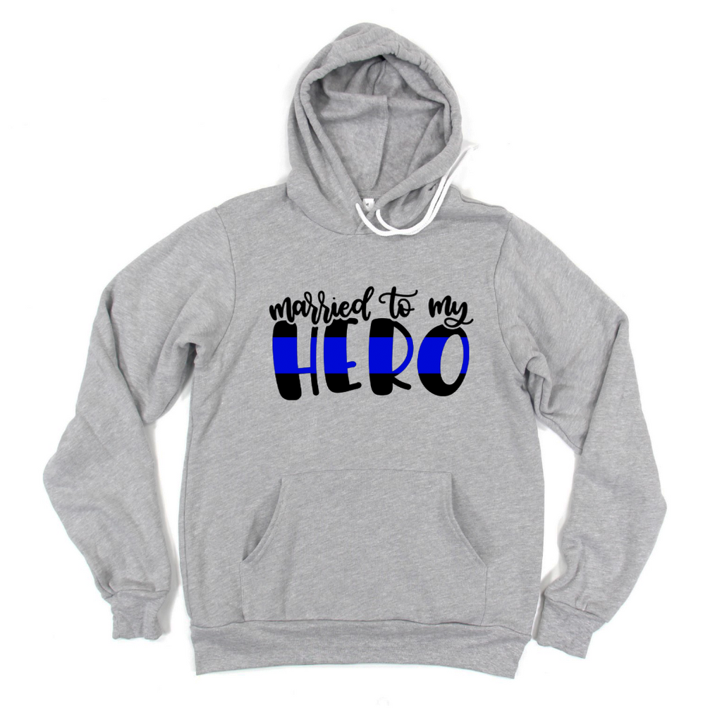 Married To My Hero (TBL) Unisex Pullover Hoodie