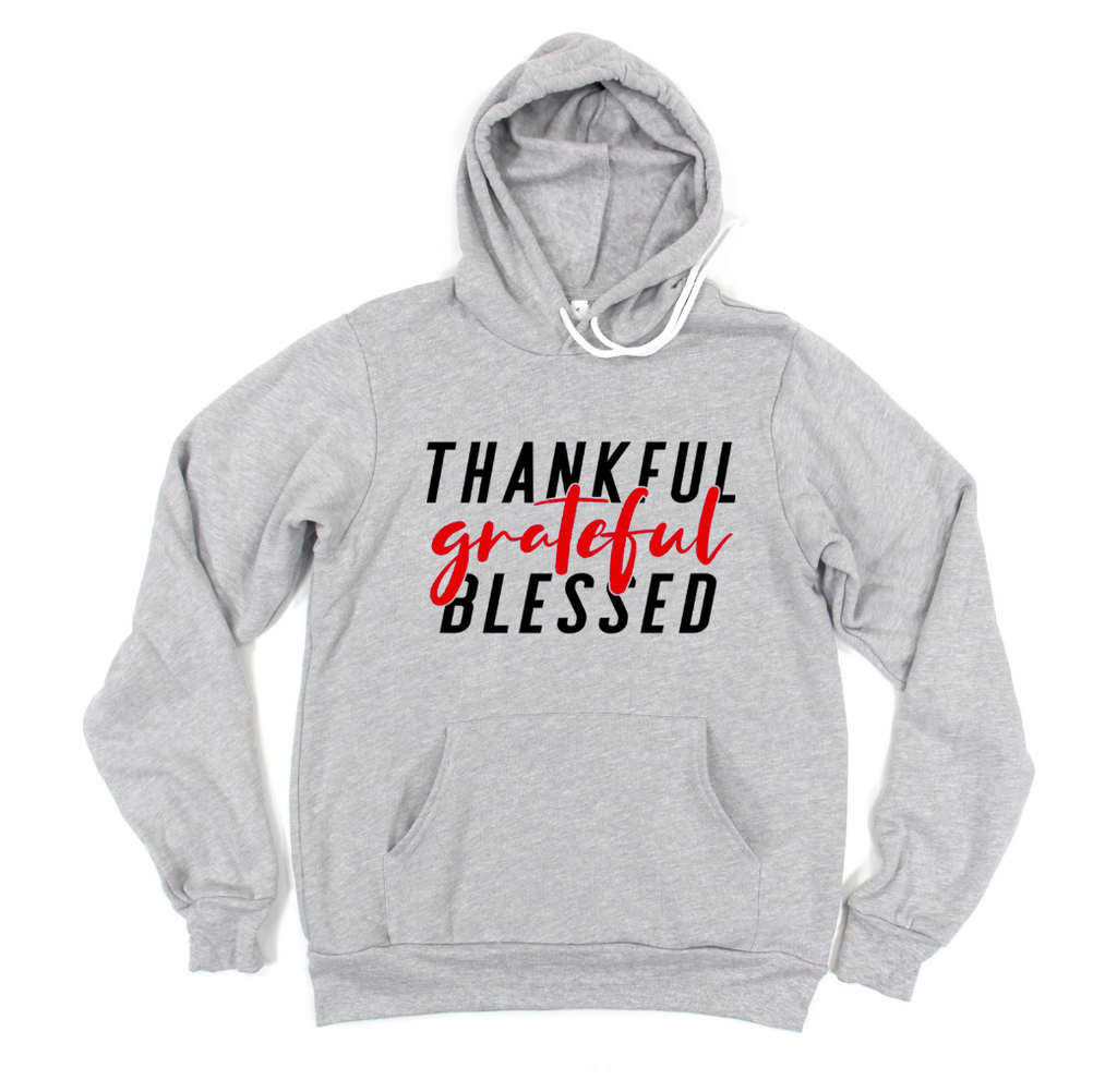 Thankful Grateful Blessed (TRL) Unisex Pullover Hoodie