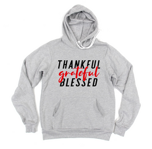 Thankful Grateful Blessed © (TRL) Unisex Pullover Hoodie