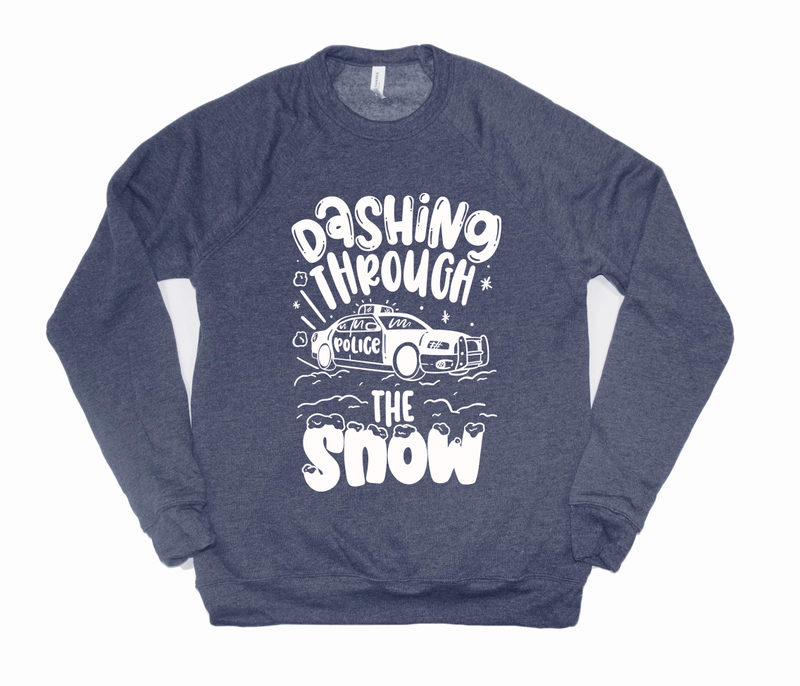 Dashing Through The Snow © (LEO) Unisex Crewneck Sweatshirt