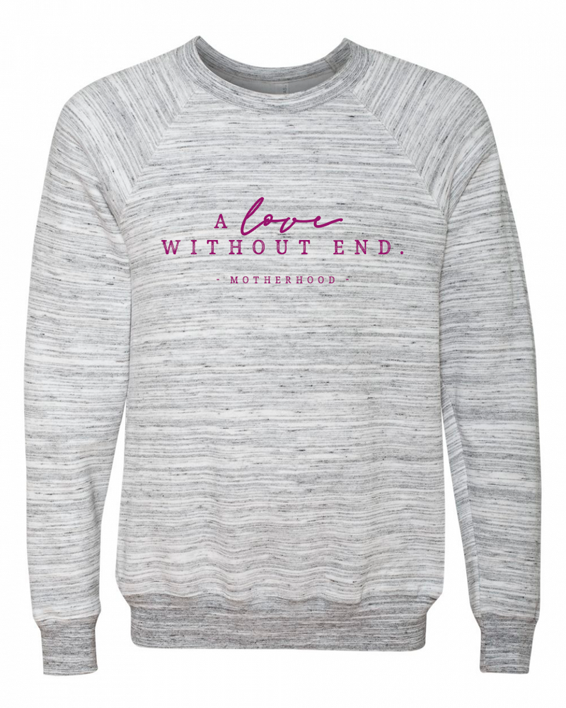 A Love Without End Unisex Crewneck Sweatshirt (Purlmine)
