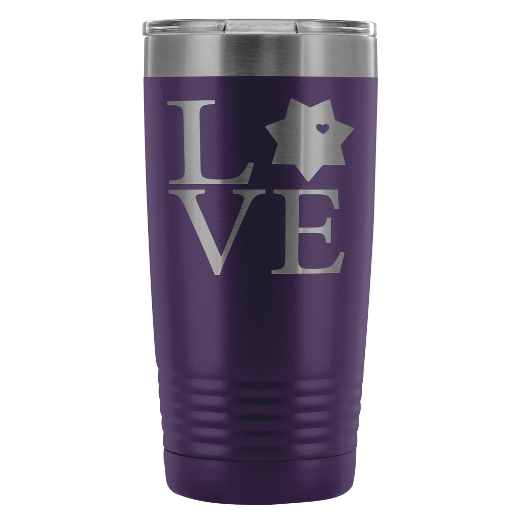 LEO 7pt Love Square 20oz Tumbler