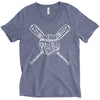 Play Ball Unisex V-Neck Top