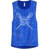 Play Ball Ladies Flowy Muscle Tank
