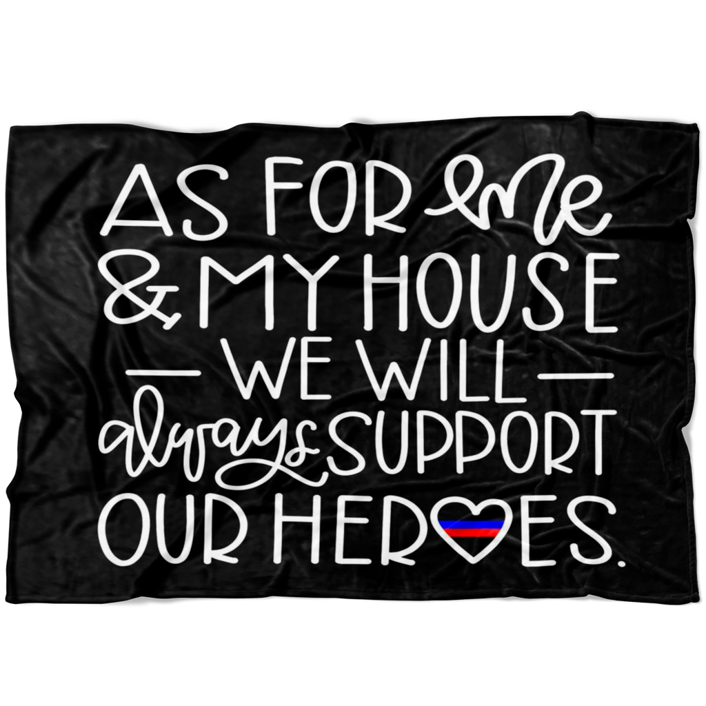 As For Me and My House TBL/TRL Fleece Blanket