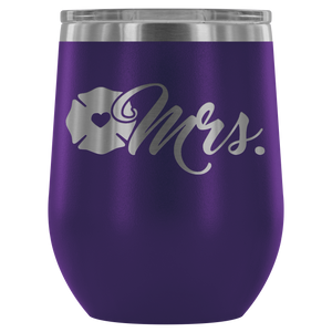 Maltese Cross Mrs 12oz. Stemless Wine Tumbler