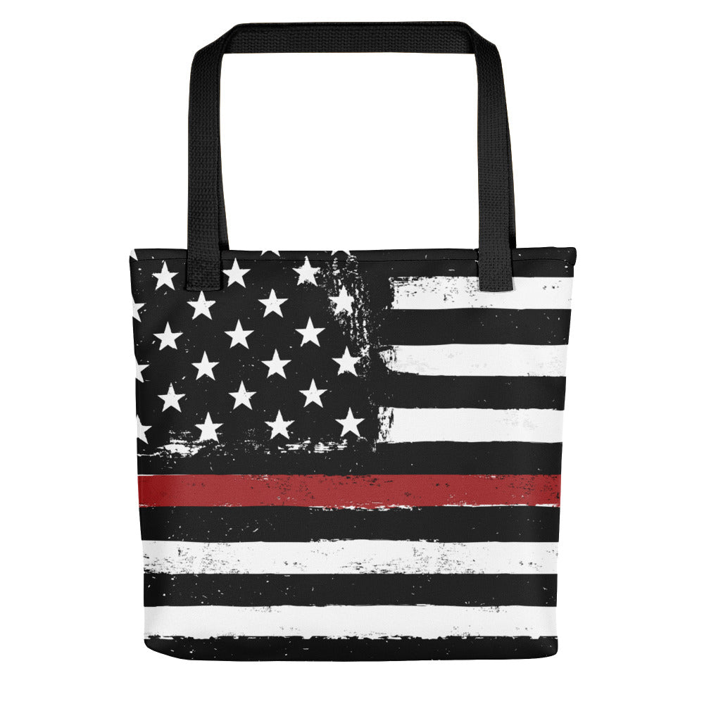 TRL Distressed Stars and Stripes Tote Bag