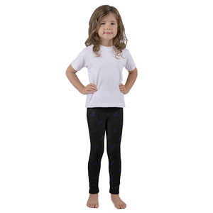 TBL Subdued Hearts Kid's Printed Leggings