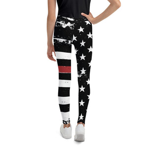 TRL Distressed Stars and Stripes Youth Leggings