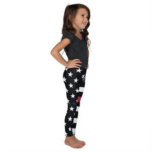TRL Distressed Stars and Stripes Kid's Leggings