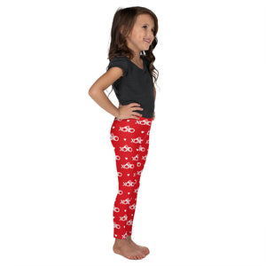 Cuffs and Kisses Kid's Printed Leggings