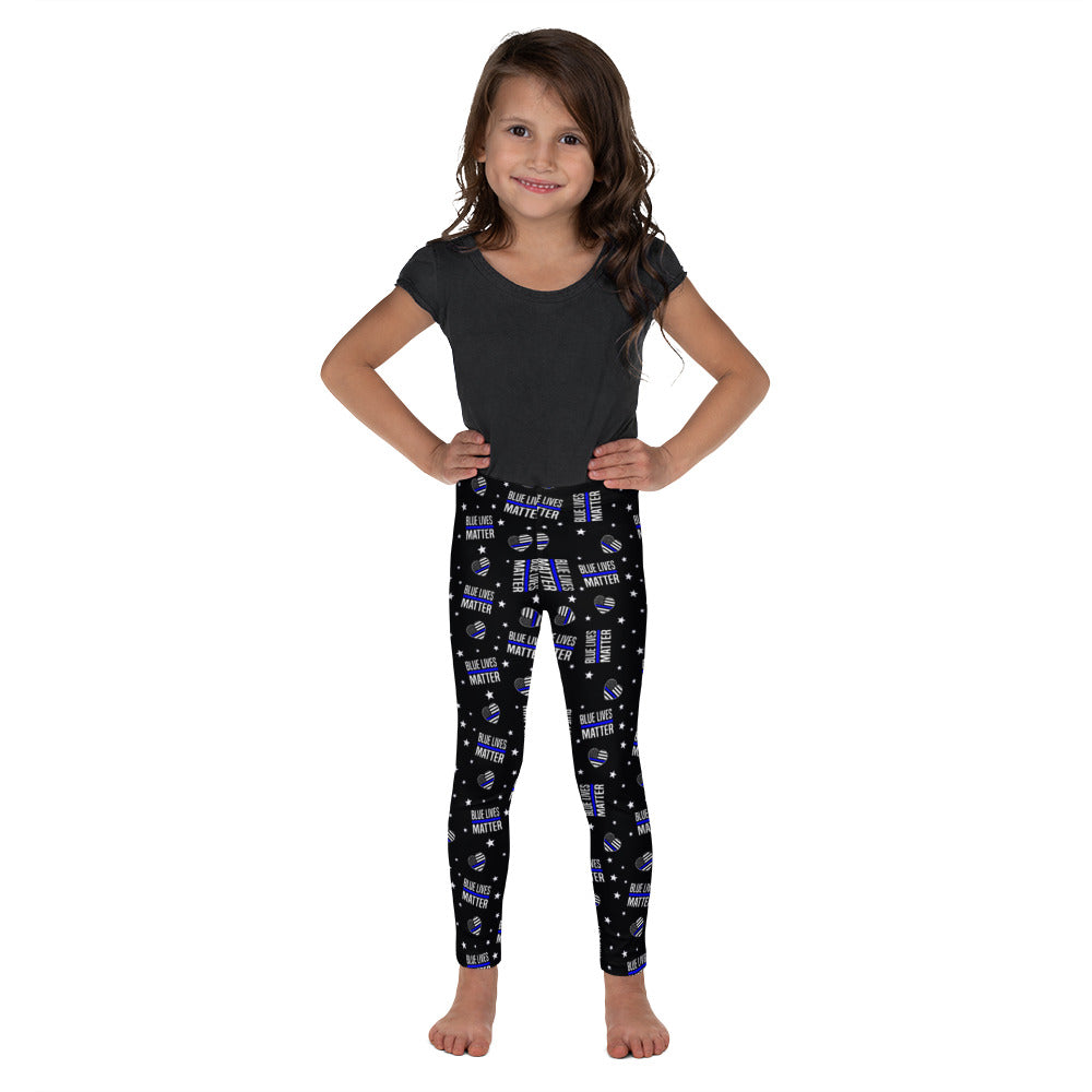 Blue Lives Matter Kid's Leggings