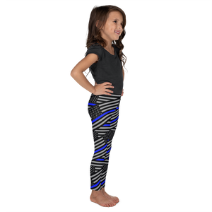 Thin Blue Line Flag Kid's Leggings