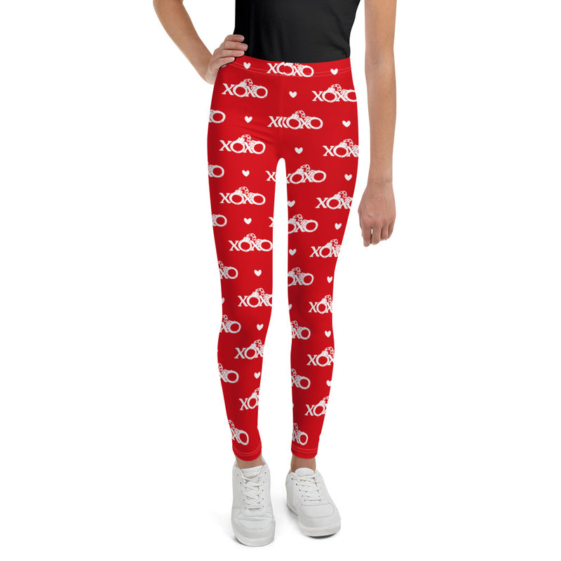 Cuffs and Kisses Youth Printed Leggings