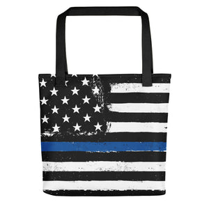 TBL Distressed Stars and Stripes Tote bag