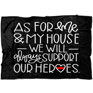 As For Me and My House TRL Fleece Blanket