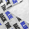 Back the Blue Law Enforcement Fleece Blanket