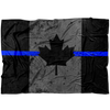 TBL Canadian Maple Leaf Flag V2 Fleece Blanket