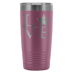 LEO 5pt Love Square 20oz Tumbler
