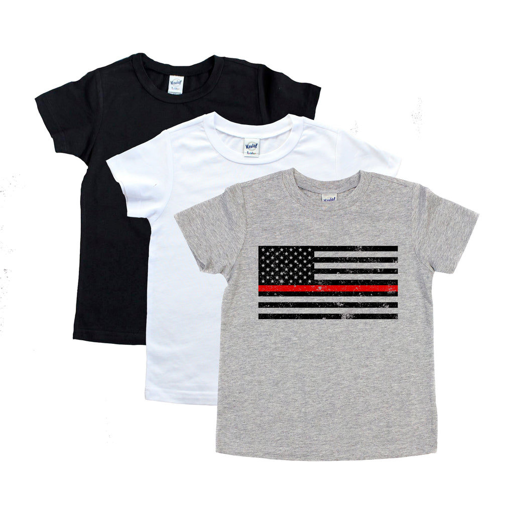 Thin Red Line Standard Flag - Youth
