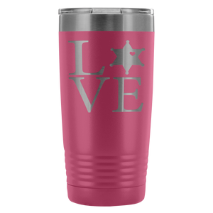 LEO 6pt Love Square 20oz Tumbler