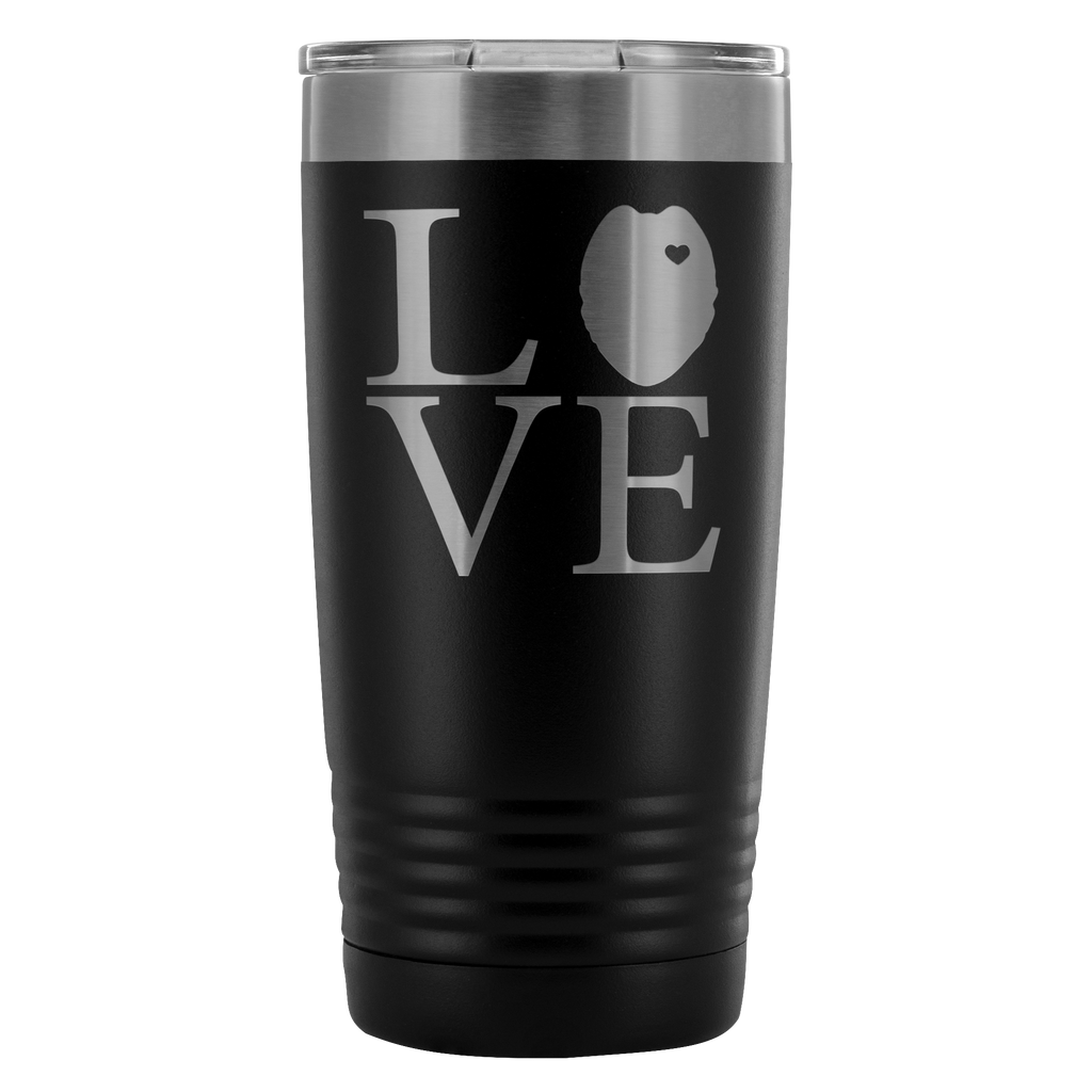 LEO Oval Love Square 20oz Tumbler